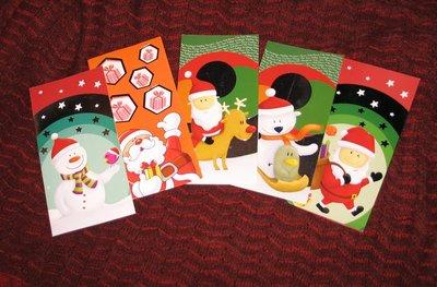 Kerstkaarten met enveloppe